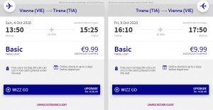 Za mořem i turistikou do Albánie - z Vídně