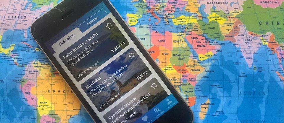 Hlídač letenek – naše nová a jedinečná aplikace