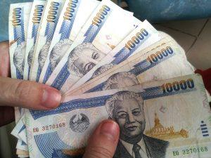 Měna a ceny v Thajsku