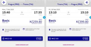 Letní Albánie: Tirana z Prahy za neuvěřitelnou cenu