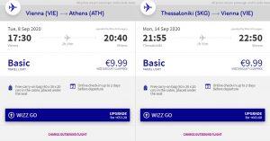 3v1: Řecké ostrovy + Athény + Soluň v létě z Vídně