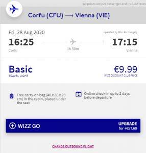 2v1: Bari a Korfu v jednom tripu z Prahy s návratem do Vídně