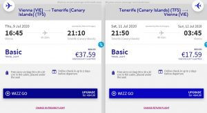 Letní Kanárské ostrovy: Tenerife z Vídně