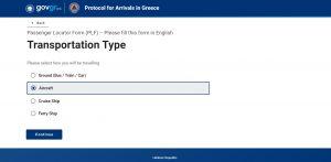 Pozor: Povinný formulář pro vstup do Řecka a na Kypr