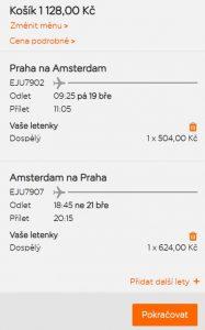 Z Prahy do Amsterdamu nejen na víkendy