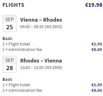 Nejlevnější letenky na řecký ostrov Rhodos
