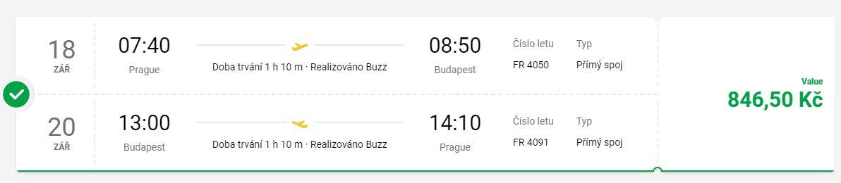 Na prodloužený víkend z Prahy do Budapešti