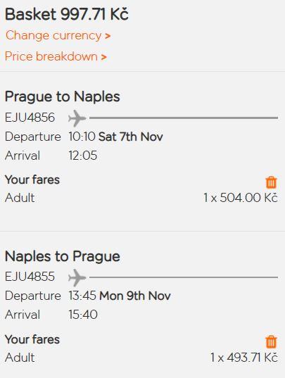 Italská Neapol na podzimní prodloužený víkend – z Prahy