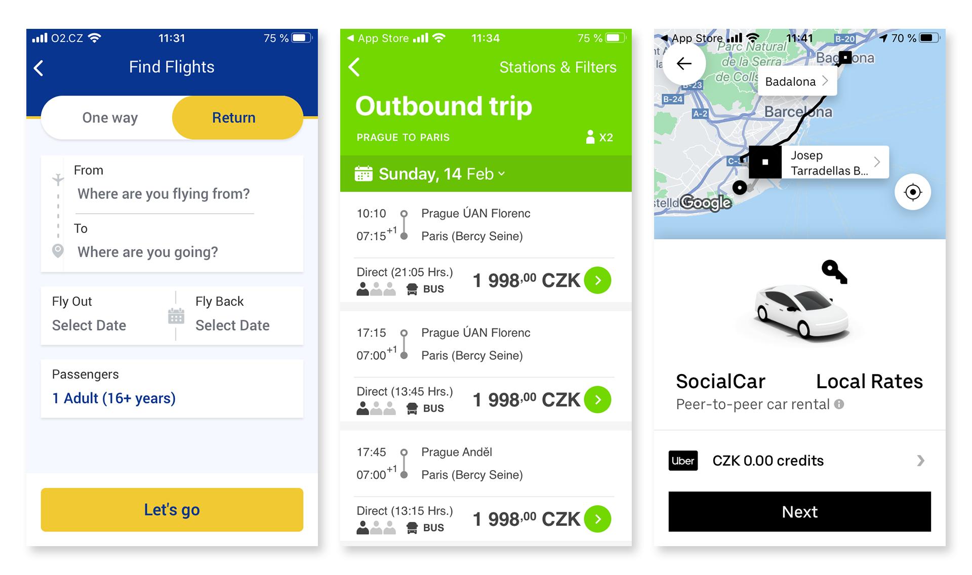 Travel appky: nejlepší aplikace na cestování