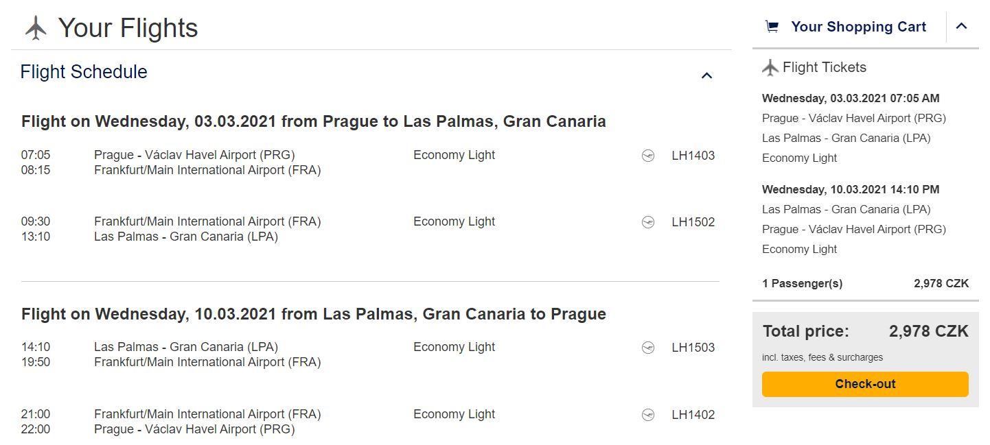 Kanárské ostrovy z Prahy: březnová Gran Canaria