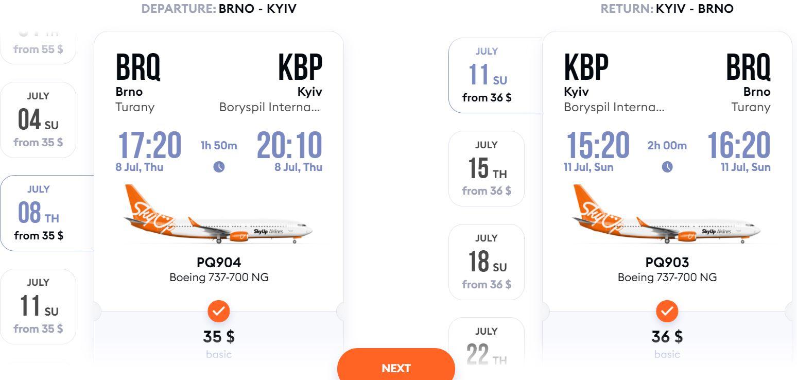 Nové linky z Brna a Ostravy do Kyjeva: letenky v prodeji