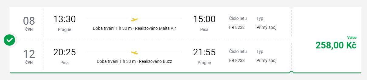 Velký výprodej letenek u Ryanairu – z Prahy či Vídně do Evropy
