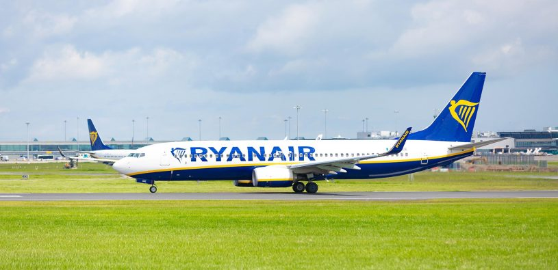 Ryanair obnovil výrazný počet linek z Prahy