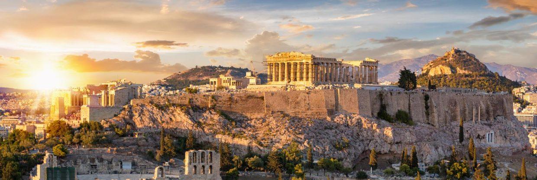 Řecké Athény v červnu a červenci z Vídně