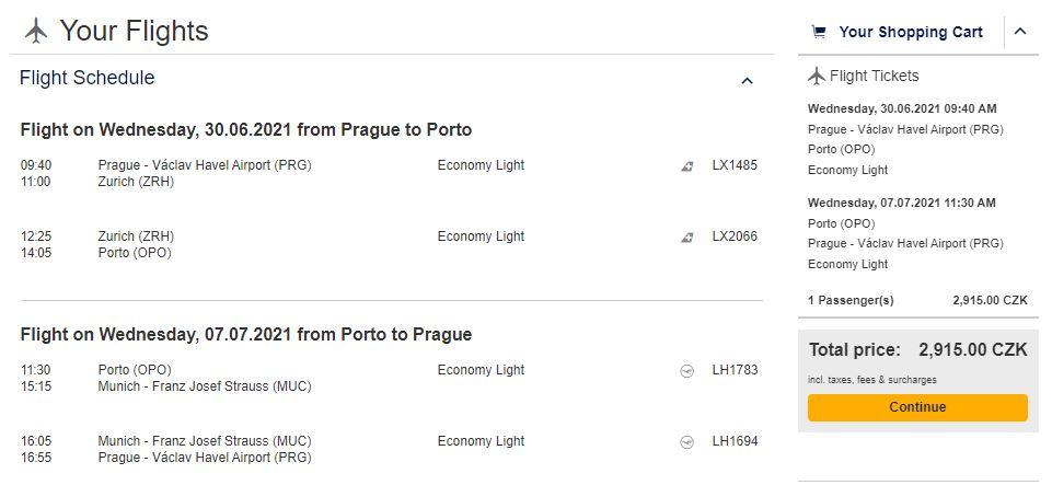 Portugalsko: Z Prahy do Porta během letních prázdnin