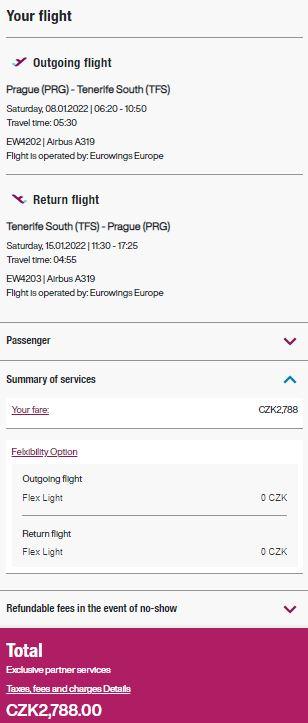 Přímé lety z Prahy na Kanárské ostrovy: Fuerteventura i Tenerife