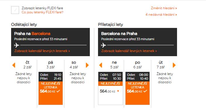 Prodloužený víkend v Barceloně