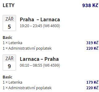 Z Prahy na Kypr: letenky do Larnaky napříč létem