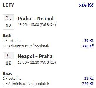 Itálie: Neapol z Prahy nejen na prodloužené víkendy