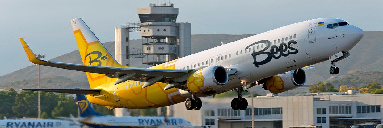Nová linka z Prahy na Ukrajinu: Bees Airline začala létat do Oděsy