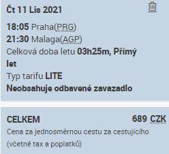Smartwings bojují s Ryanairem na lince z Prahy do Malagy