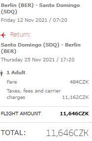Z Berlína do Dominikánské republiky: Santo Domingo