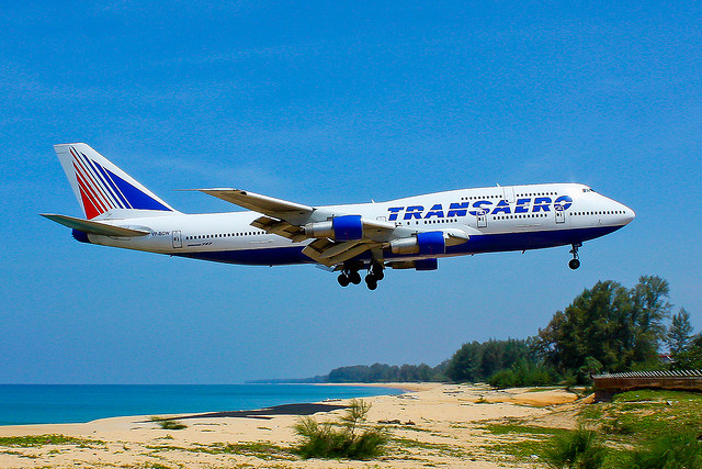 Ruská společnost Transaero ohlásila bankrot
