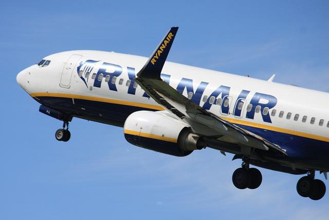 Ryanair rozdává zdarma vouchery na 10 EUR
