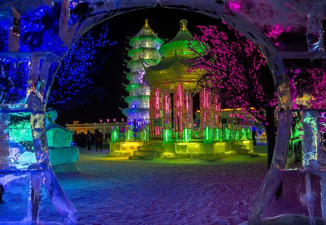 Ledový festival v čínském Harbinu a zimní Moskva – 5533 Kč