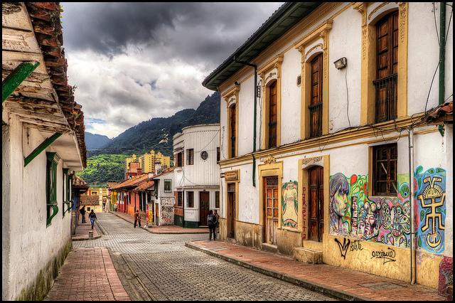 Kolumbie - Bogotá z Vídně