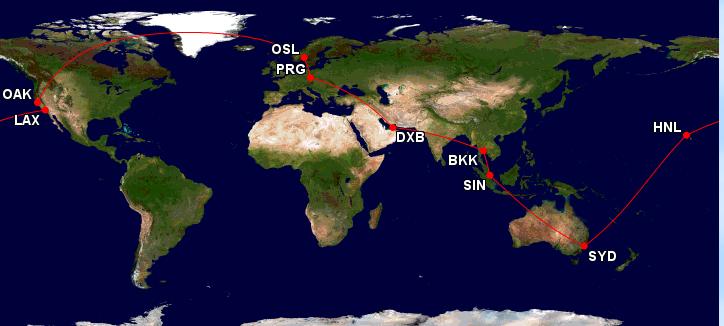 Cesta kolem světa – 29 920 Kč
