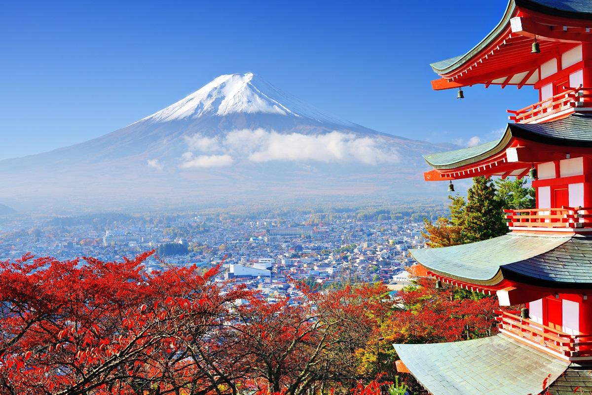 Japonsko, hora Fuji
