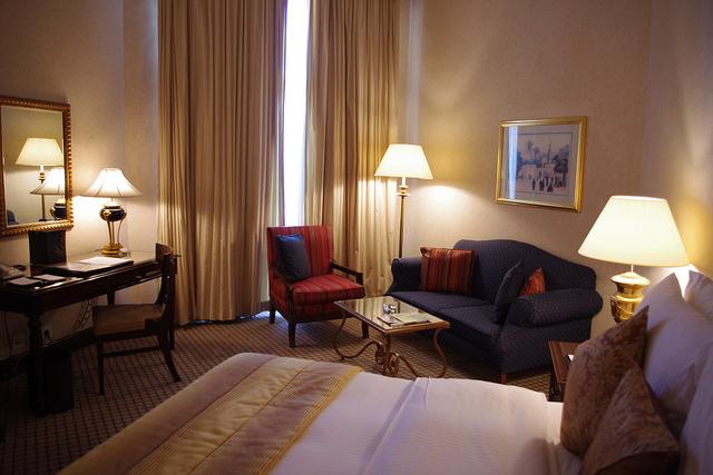 Ubytování v Hiltonu – 171 Kč/os/noc