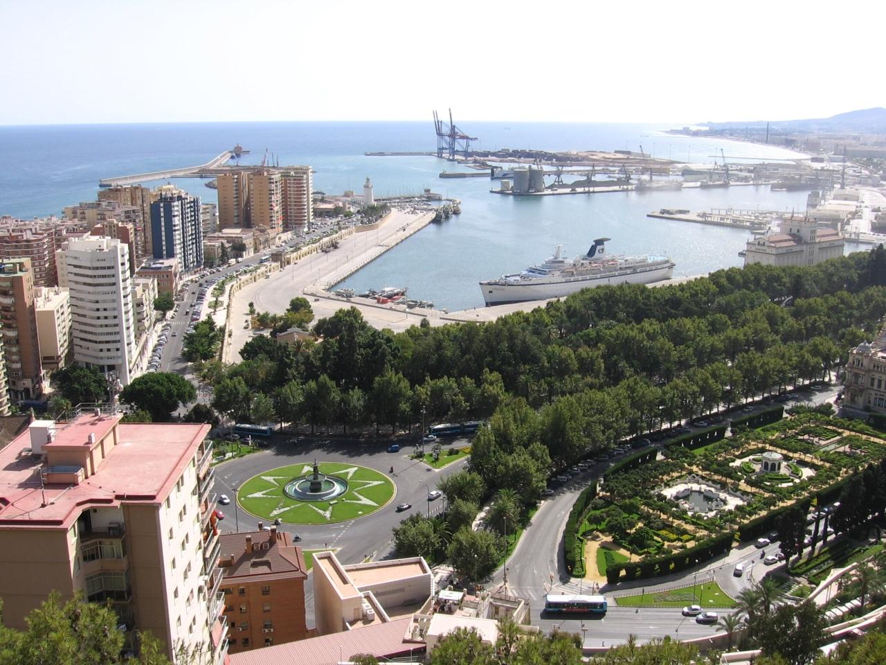 Málaga – Ryanair – 1 093 Kč