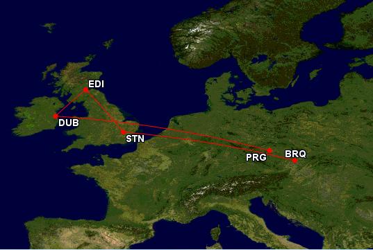 Dublin, Edinburgh a Londýn během jedné cesty za 2847 Kč