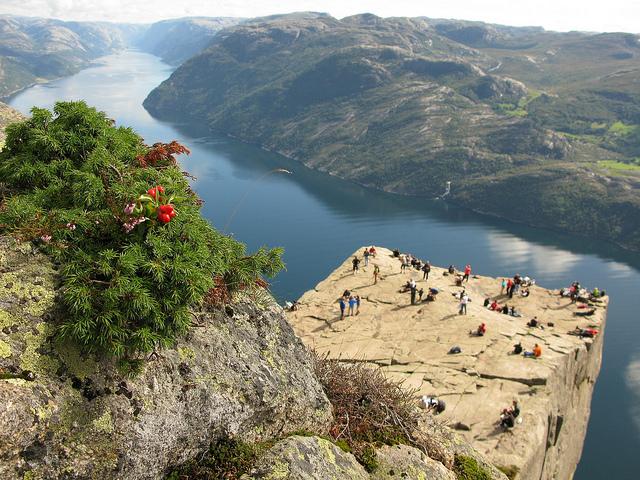 Norsko na konci léta