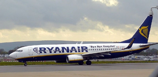 Mega akce Ryanairu – letenky po celé Evropě od 538 Kč
