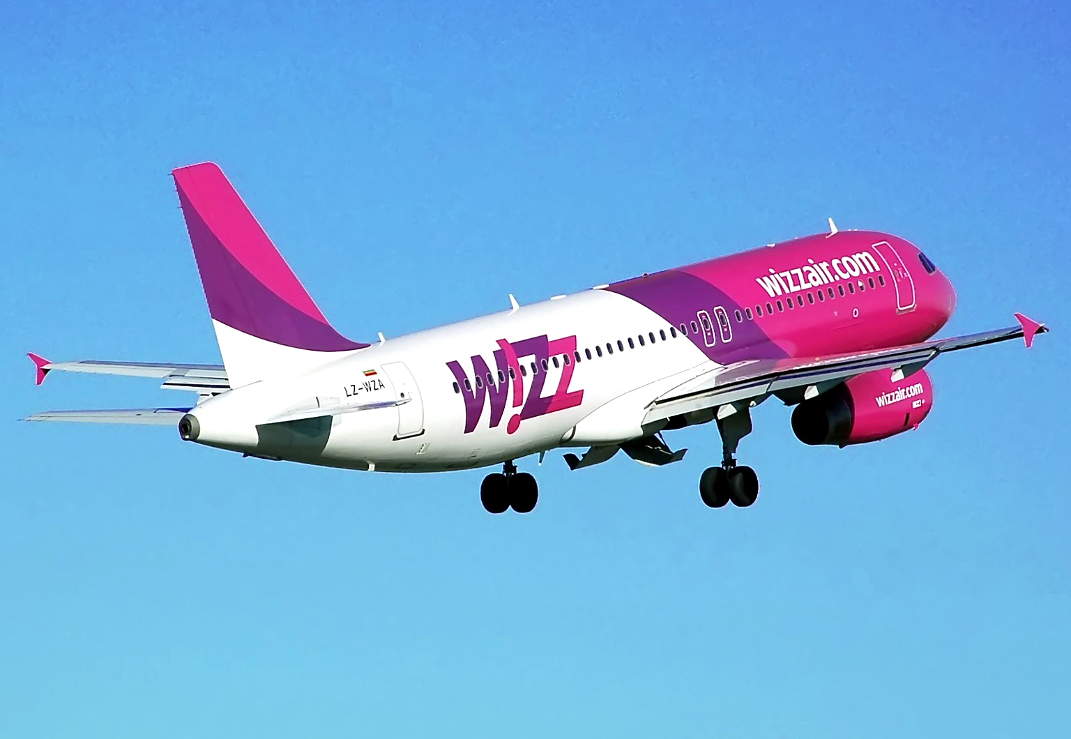Wizzair – 20%, letenky od 439 Kč