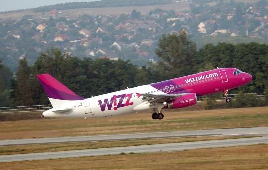 20 % sleva Wizzair – letenky na jaro od 438 Kč!