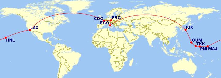 Cesta kolem světa za 8 dní, před odjezdem