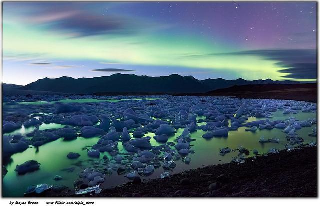 Island na jaře
