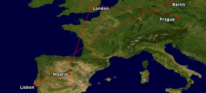 Londýn, Madrid, Lisabon a Berlín – celé v létě najednou za 4 385 Kč