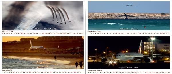 Letecký kalendář 2015