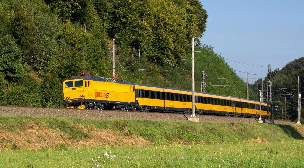 Košice – Regiojet – 504 Kč