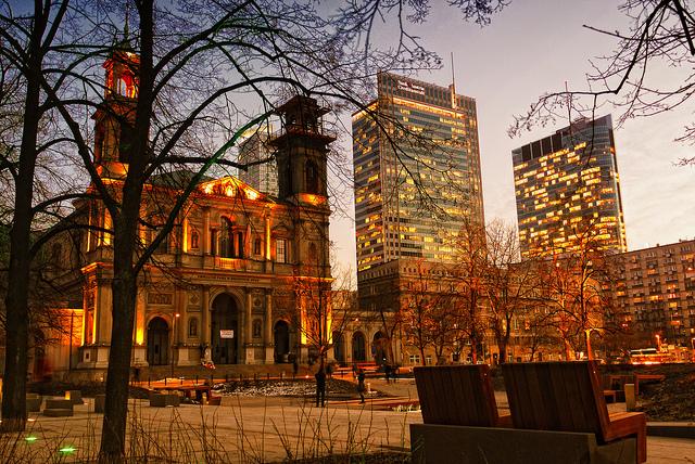 Varšava – 249 Kč, odlet z Wroclawi